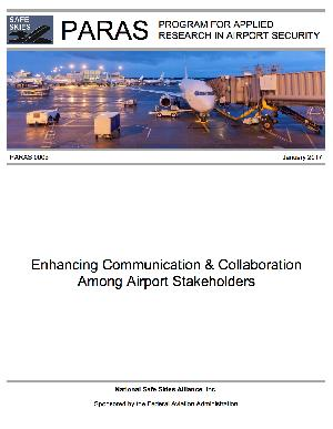 Publication Image for PARAS 0003 Report: Enhancing Communication and Collaboration among Airport Stakeholders